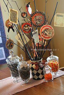 Holly Creates: Boo to You! Retro Halloween, Halloween Club, Halloween Ribbon, Halloween Banner, Halloween Ornaments, Halloween Cards, Spooky Halloween, Holidays Halloween, Halloween Treats