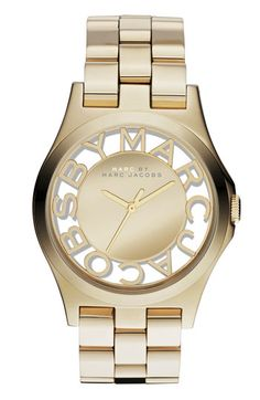 Pretty see through dial on this #MarcJacobs watch http://rstyle.me/n/kmib5nyg6