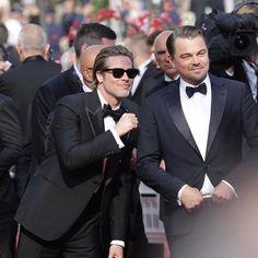 Cannes Festival 2019 Leonardo DiCaprio and Brad Pitt Most Handsome Actors, Handsome Boys, Leonardo Dicaprio, Brad Pitt, Gorgeous Men, Beautiful, Don Juan, Mercedes, Naturally Curly Bob