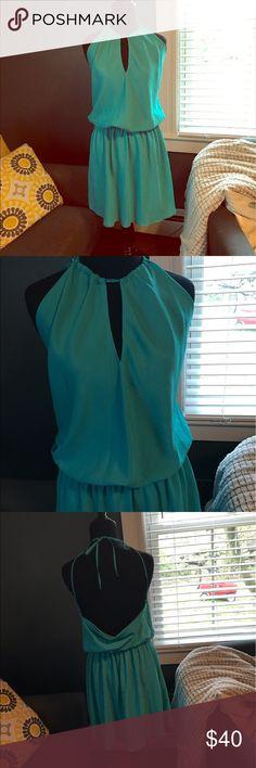 Boston Proper draped back dress 4 Boston Proper draped back dress size 4. No signs of wear. Boston Proper Dresses