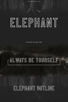 Elephant Font: A versatile sans serif font freebie at Pixelo. Bold Fonts Free, Free Typography Fonts, Free Typeface, Sans Serif Typeface, Typography Poster, Graphic Design Fonts, Typography Design, Web Design, Type Design