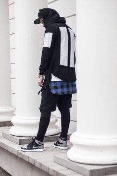 sweater blvck street goth fashion dark menswear t-shirt