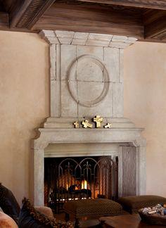 Italian Fireplace / Mantle