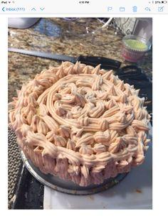 Cake de guayaba y icing de guayaba