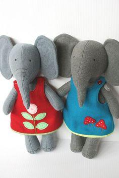 sweet felt elephants