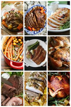 Huge list of amazing roast recipes for your family to try.