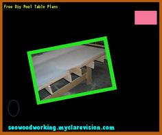 Free Diy Pool Table Plans 202911 - Woodworking Plans and Projects!