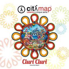 Citymap of Catania, Sicily { more info at www.city-maps.it/guide-turistiche/catania } #cityguide