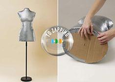 Crea tu propio maniquí casero paso a paso - Tozapping.com