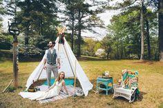 >> Forest Wedding Photo Shoot << styled by @flowerchildweddings and photo by @staceybodephoto #southwesternwedding #weddinghippie #rustic