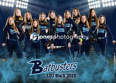 Team Picture 5x7 Batbuster 12U Black  Cindi Jones Photography_JonesPhotography_Sports Banner_Softball Banner_Baseball Banner_Team Pictures_Softball Posters_Sports Posters_Softball Team Pictures_Macomb County Photographer_Sterling Heights Photographer_Sports Photographe