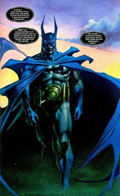 Batman by Simon Bisley. I kinda like this