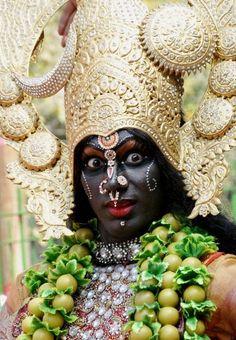 Festival dancer