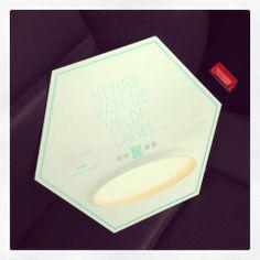 We are so proud!  HENRY VAN DE VELDE  LABEL #DARK #EDGAR #MaDe #2013 #award #KrisPeeters Minister  President #designvlaanderen
