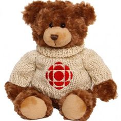 A classic part of the Kids' CBC Collection. O Canada, Plush, Teddy Bear, My Favorite Things, Toys, Children, Classic, Cute, Animals