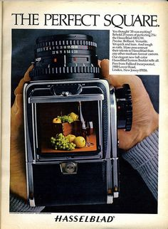 The Perfect Square - Hasselblad by Nesster, via Flickr