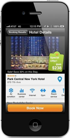 """FREE!  """"Worldmate App For iPhone Now Includes Hotel Bookings, New Design"""""""