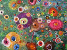 Large Moon Garden detail. #Racheljenkinson #moongarden #nailvarnish #original #art