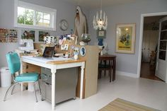 Inspiring Workrooms & Craft Spaces