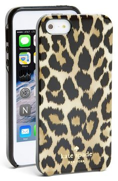 kate spade new york 'leopard ikat' iPhone 5 & 5s case | Nordstrom