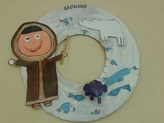 Grónsko Polo Norte, Reggio Emilia, Crafts For Kids, Projects To Try, Clock, Shapes, Activities, Decoration, Children
