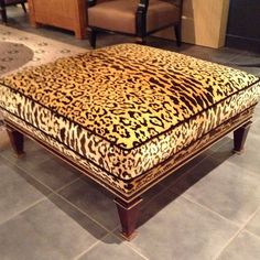 There is no such thing as too much leopard! #Paris #design #interiors