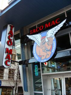 Treat dad to Taco Mac - a sports bar with several locations around the city:  the three closest to MARTA are a block from the Midtown, Lindbergh Center and Dome stations.