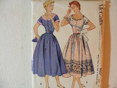 McCall's vintage sewing pattern 9607 for misses' by byRickMarsh, $37.99