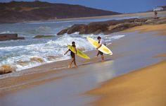 Setibão é point dos surfistas o ano todo- Guarapari ES
