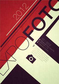 EXPOFOTO SWISS STYLE POSTERS by Martín Liveratore, via Behance