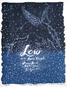 Low Concert Poster By Diana Sudyka