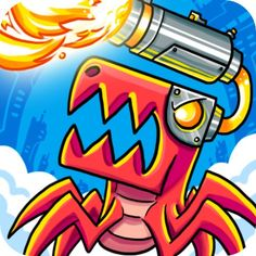 Velocispider by Noodlecake Studios Inc  ~~~  A new take on Space Invaders for old school gamers like myself!  :o)