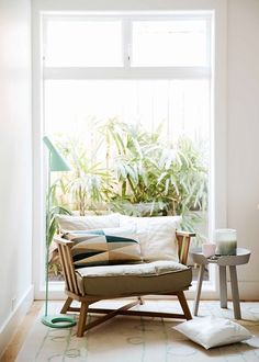 6 chairs perfect to style in the corner of a room - Homes, Bathroom, Kitchen & Outdoor | Home Beautiful Magazine Australia