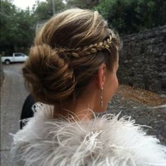 40 Amazing Braided Hair Updos for Long Hair Braided Hairstyles Updo, Fancy Hairstyles, Wedding Hairstyles, Braided Updo, Bad Hair, Hair Day, Hair Romance, Up Girl, Prom Hair