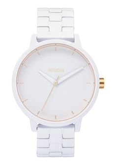 Our unique Nixon women's watches range from dainty and modern to contemporary and classic. Shop online today for your favorite women's Nixon watch. Stylish Watches, Luxury Watches, Cool Watches, Watches For Men, White Watches, Fossil Watches, Nixon Watches, Luxury Sunglasses, Watch Sale