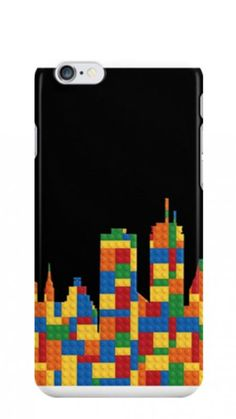 LEGO skyline phone cases for Boston and Seattle. (And other favorite cities not in the Super Bowl.)