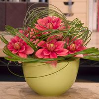 Flowerschool.com has an amazing video library of great floral design how-tos.  Leanne Kesler is a flower godess!