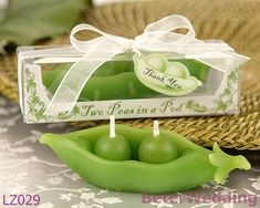 Wedding Gifts Two Peas in a Pod Candle in Ivy Print Gift Box LZ029 Birthday Valentine's day gifts favours on AliExpress.com. $40.00
