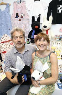 Japan's theme parks: Dragonball, Gundam, Hello Kitty joined by cute Europuppies Gaspard et Lisa