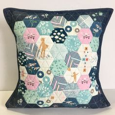 Playground Hexie Pillows – Mister Domestic  TUTE