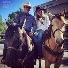 Amber at the Calgary Stampede Parade