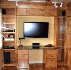 custom home entertainment centers and built in book shelves bookwalls llc