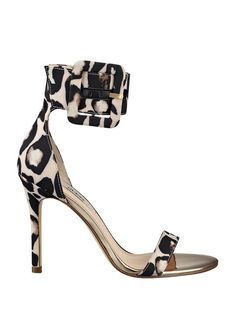 Odeum Printed Sandals with Ankle Buckle