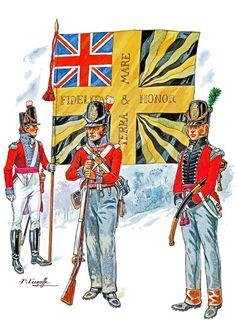 Швейцарцы на британской службе, 1811 год.