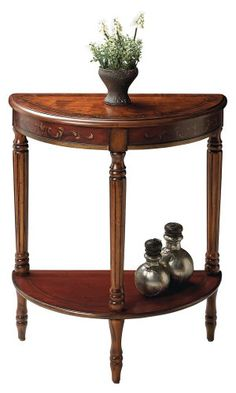 http://smithereensglass.com/demilune-console-cherry-painted-finish-p-1162.html