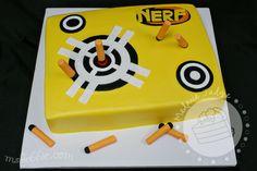 Cake Walk: Nerf Dart Birthday Cake