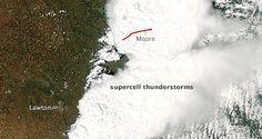 NASA - Satellites See Storm System that Created Moore, Okla., Tornado
