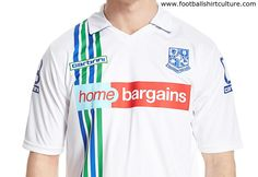 Tranmere Rovers 15/16 Carbrini Home Football Shirt