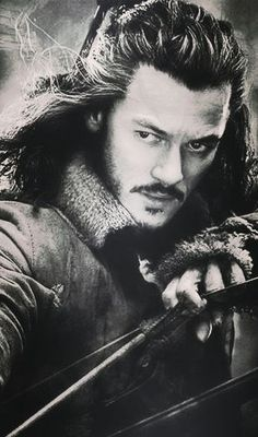 Bard the Bowman?  I think you mean Bard the Beastly. Can u say attractive.