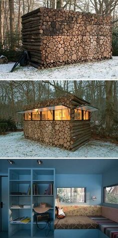 Make your Tiny House look like a woodpile!